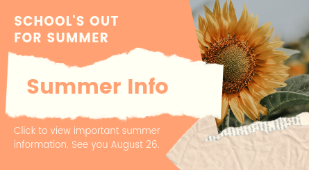 Click for Summer Information
