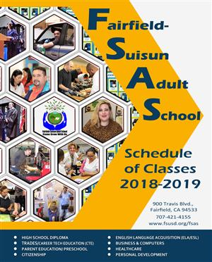 2018-19 FSAS Schedule of Classes cover image