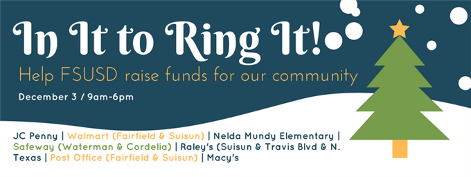 FSUSD In It to Ring It Event Flyer