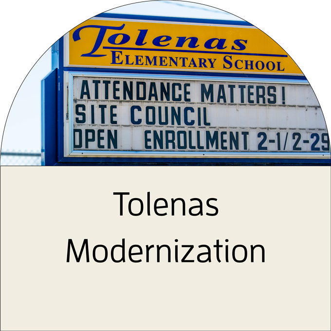 Click to view the Tolenas Modernization Project Fact Sheet