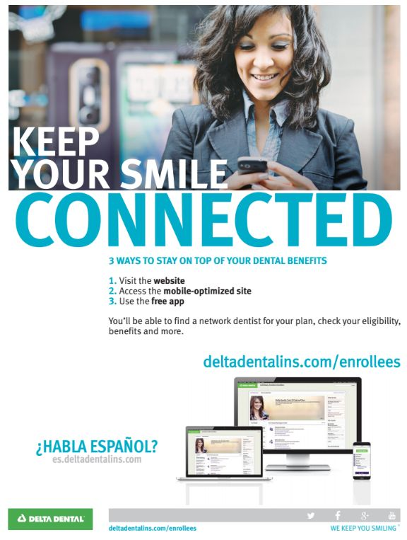 Keep Tabs on your Dental Benefits Flyer