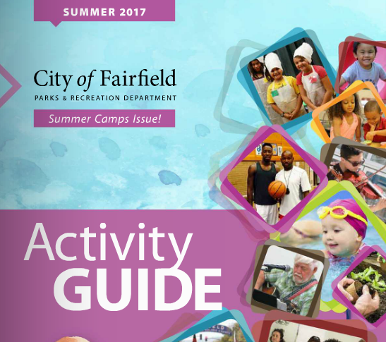 City of Fairfield Summer Activity Guide