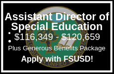 Apply for the Assistant Director of Special Education position with Fairfield-Suisun USD