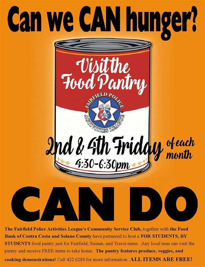 Fairfield PAL Food Pantry
