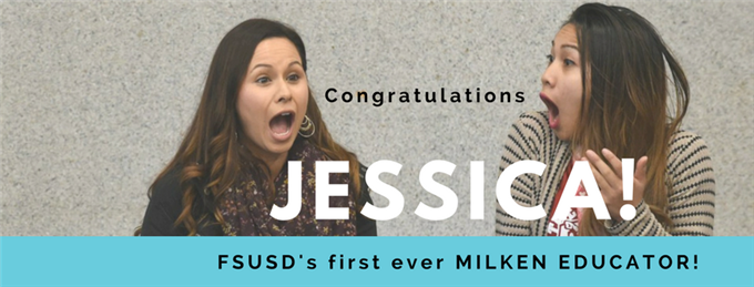 Milken Educator Recipient, Jessica Villanueva
