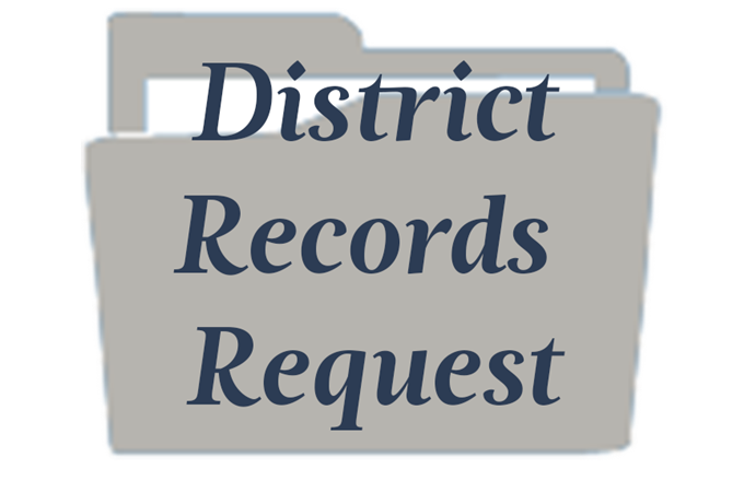 District Records Request